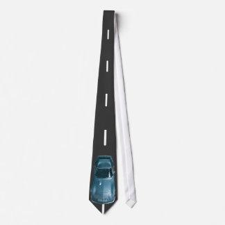 Krawatte mit einem coolen Auto von oben genanntem