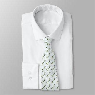 Krawatte mit Spargel