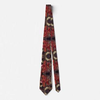 Krawatte: Rot und Schwarzes Krawatte