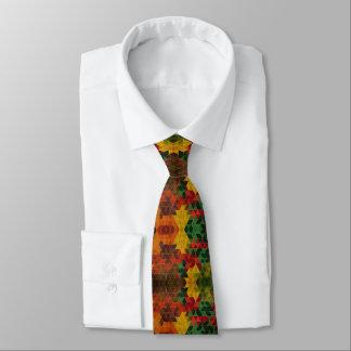 Krawatte von Farben und Rauten