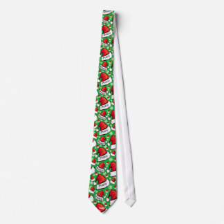 Krawatte - Weltfrieden-Weihnachtsmannmütze