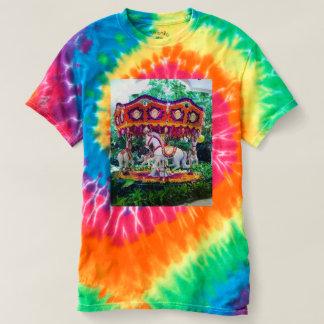 Krawatten-Blumen-Gartenkarussell T-shirt