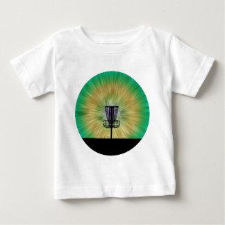 Krawatten-Disc-Golf-Korb Baby T-shirt