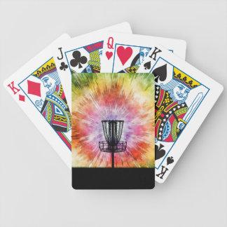 Krawatten-Disc-Golf-Korb Bicycle Spielkarten