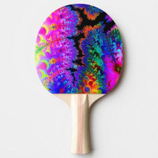 Krawatten-Fraktal Tischtennis Schläger