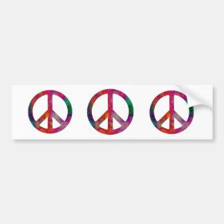 Krawatten-Friedenssymbol, Autoaufkleber