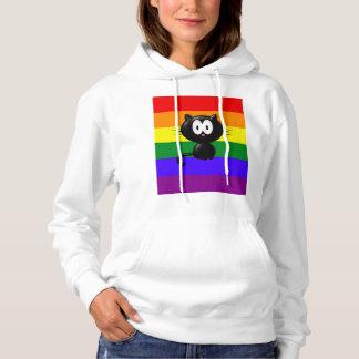 Krazy kat entwarf mit Kapuze Sweatshirt