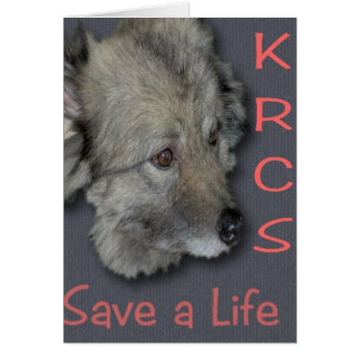 KRCS retten ein Leben Karte