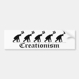 Kreationismus Autoaufkleber