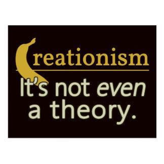 Kreationismus. Es ist nicht einmal eine Theorie Postkarten