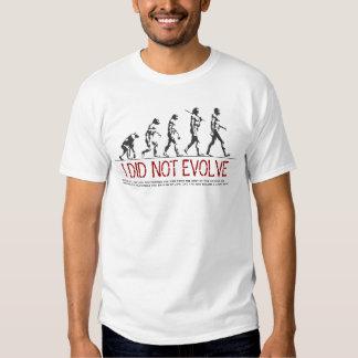 Kreationismus Hemd