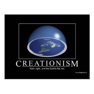 """Kreationismus-"" Postkarte"