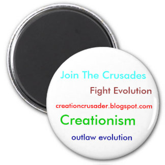 Kreationismus Runder Magnet 5,1 Cm