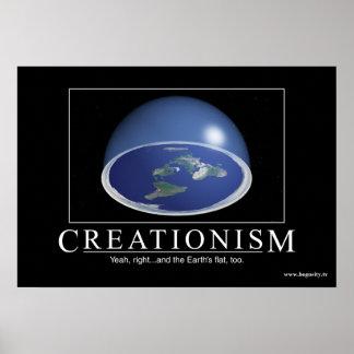 """Kreationismus-"" (UNO) inspirierend Plakat"