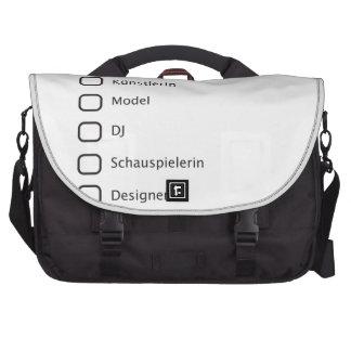 Kreative Hipster Notebook Tasche