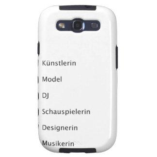 Kreative Hipster Samsung Galaxy SIII Hüllen
