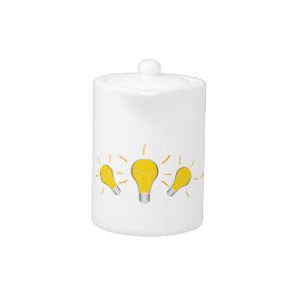 Kreative Idee der Glühlampe