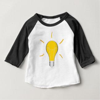 Kreative Idee der Glühlampe Baby T-shirt