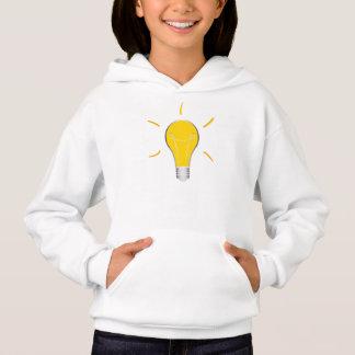Kreative Idee der Glühlampe Hoodie