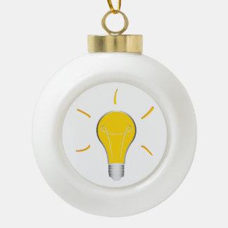 Kreative Idee der Glühlampe Keramik Kugel-Ornament