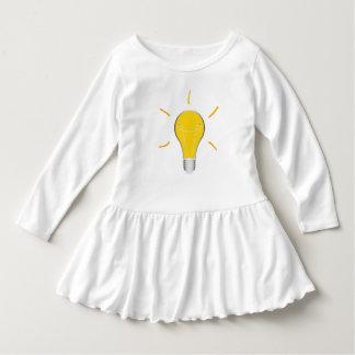 Kreative Idee der Glühlampe Kleid