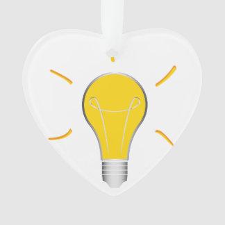 Kreative Idee der Glühlampe Ornament