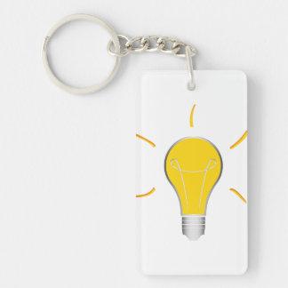 Kreative Idee der Glühlampe Schlüsselanhänger
