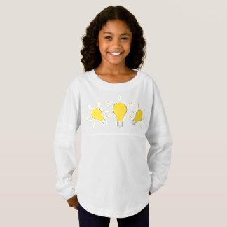 Kreative Idee der Glühlampe Trikot Shirt