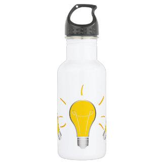Kreative Idee der Glühlampe Trinkflasche