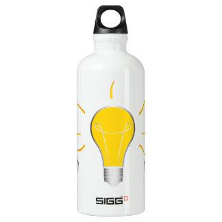 Kreative Idee der Glühlampe Wasserflasche