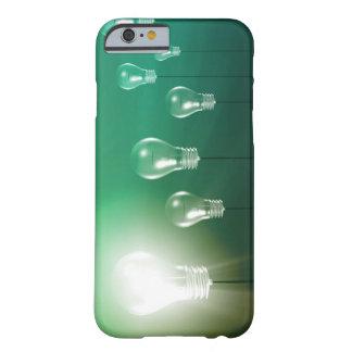 Kreative Innovation und glühendes Konzept als Barely There iPhone 6 Hülle