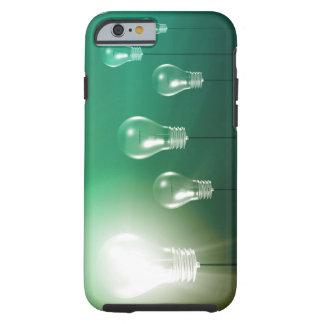 Kreative Innovation und glühendes Konzept als Tough iPhone 6 Hülle