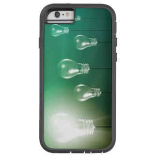 Kreative Innovation und glühendes Konzept als Tough Xtreme iPhone 6 Hülle