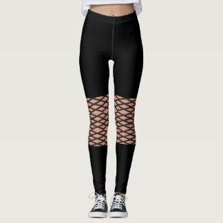 Kreative Spitzeart legging Entwurf Leggings