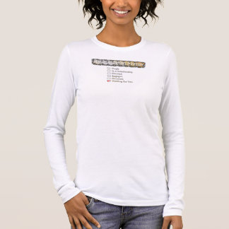 KREATIVE TYPOGRAFIE 4 LANGARM T-Shirt