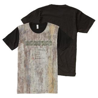 KREATIVE TYPOGRAFIE 4 T-Shirt MIT BEDRUCKBARER VORDERSEITE