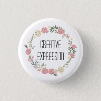 Kreativer Ausdruck-Knopf Runder Button 2,5 Cm