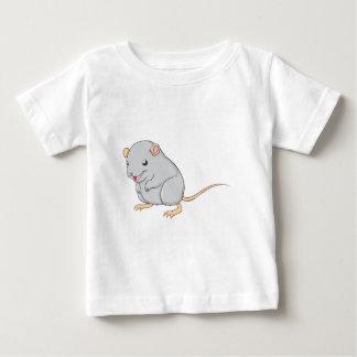 Kreativer lächelnder Gerbil Baby T-shirt