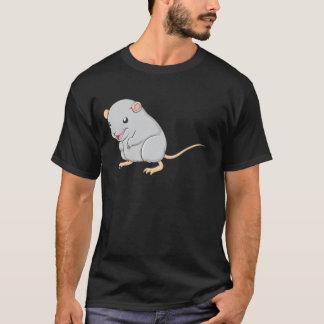 Kreativer lächelnder Gerbil T-Shirt