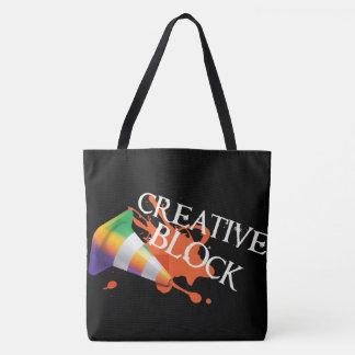 Kreativer Verstand freigegeben Tasche