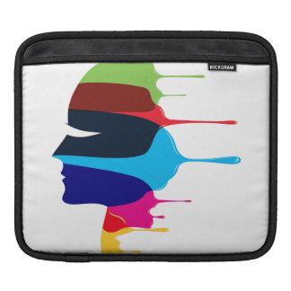 Kreatives Gesicht Sleeve Für iPads