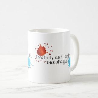 Kreativität wird nicht Tasse unterrichtet