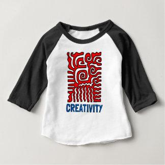 """Kreativitäts-"" Baby3/4 Raglan-T - Shirt"
