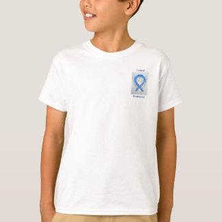 Krebs-Bewusstseins-violettes T-Shirt