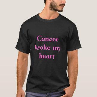 Krebs brach mein Herz T-Shirt