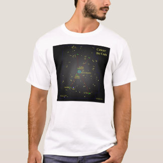 Krebs die Krabben-Konstellation T-Shirt