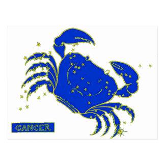 Krebs-Horoskop Postkarte