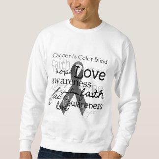 Krebs ist die blinde Farbe Sweatshirt