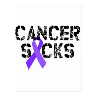 Krebs ist zum Kotzen - Hodgkins Lymphom-Krebs-Band Postkarte