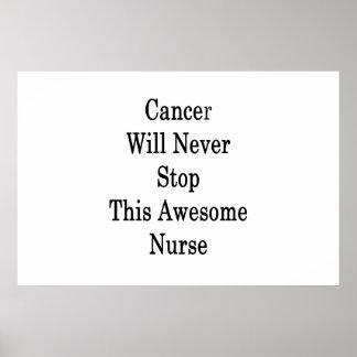 Krebs stoppt nie diese fantastische poster